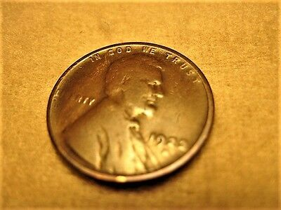 1922-D Lincoln Wheat Cent Penny Looks Nice Good ~ VG Toned