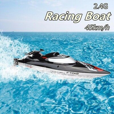 45km/h 2.4GHZ Vitality Brushless FT012 Upgraded High Speed Racing RC Boat Gift