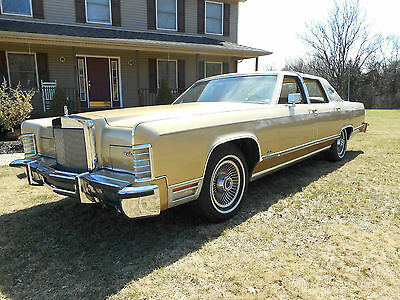1979 Lincoln Town Car 4 dr 1979 Lincoln Town Car with 55,600 orig mi, pristine cond, 1 owner always garaged
