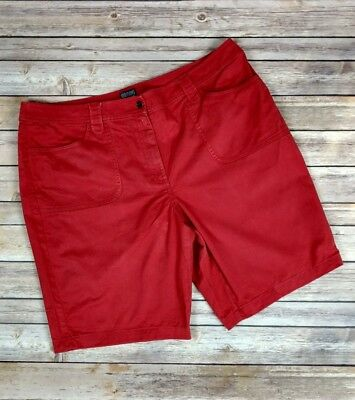 Additions by Chico's Women's Light Red Casual Classic Shorts Size 3