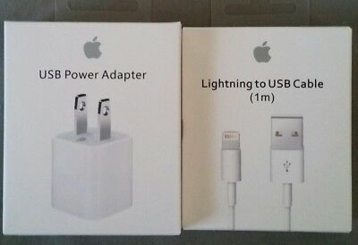 Genuine Original Apple Lightning to USB Charger Cable for iPhone 6s/Plus/5/SC