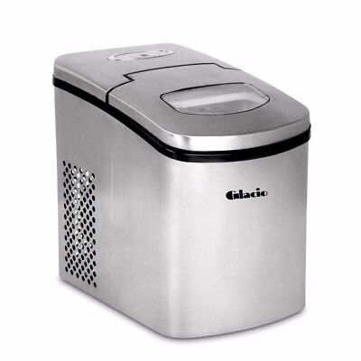 1.7L Portable Ice Maker Machine Fast Bullet Cube Snow Benchtop Counter Top #S