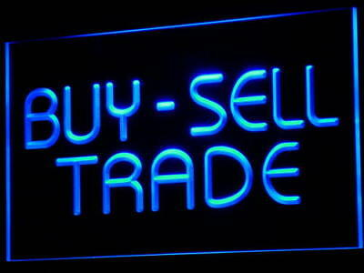 i533-b Buy Sell Trade Display Lure Bar Neon Light Sign