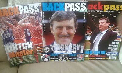 4 backpass magazines issue 23,49  53 and  54