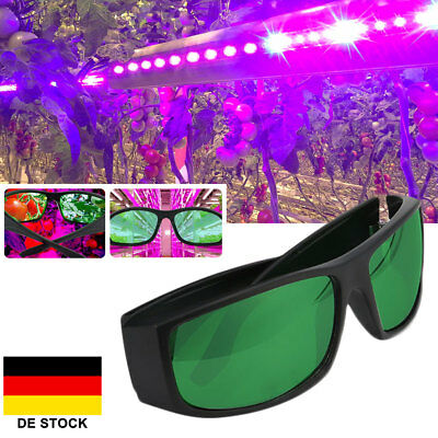 LEDGrow Light Glasses Indoor Hydroponic Grow Room Plant Visual Eye Protection UV