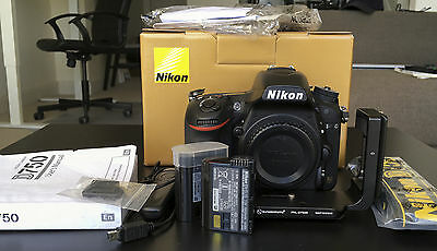 Nikon D750 24.3 MP Digital SLR FX Camera (Under Warranty) + Extras
