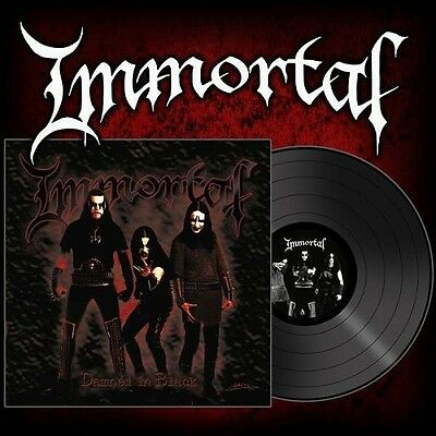 IMMORTAL - Damned In Black  [BLACK Vinyl] LP
