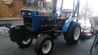 Iseki TX2140 Tractor and mower, dropped to $7000