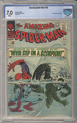 Amazing Spider-Man #  29  2nd app. of the Scorpion !  CBCS 7.0  scarce book!