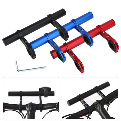 Sturdy Mountain Bike Handlebar Extension Expander Bicycle Mount Lamp Holder