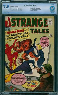 Strange Tales # 108  The Painter of a Thousand Perils !  CBCS 7.5  scarce book!