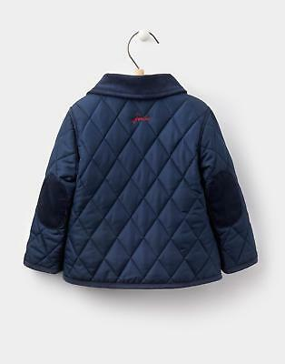 Joules 124455 Baby Boys Milford Quilted Jacket in French Navy