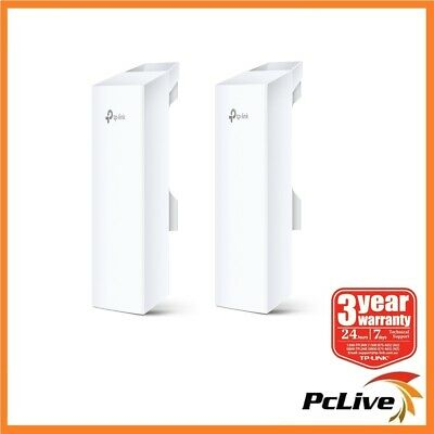 2x TP-Link CPE210 2.4GHz 300Mbps 9dBi Outdoor CPE Wireless Access Point Repeater