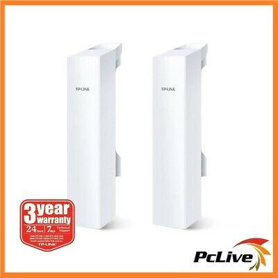 2x TP-Link CPE220 2.4Ghz 300Mbps 12dBi Outdoor CPE Wireless Access Point AP MIMO