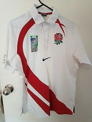 England rugby jersey,nike,size small,2007