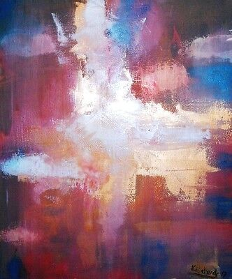 """Original abstract Oil Painting on canvas 20""""x24""""from the artist Kevin Richards"""