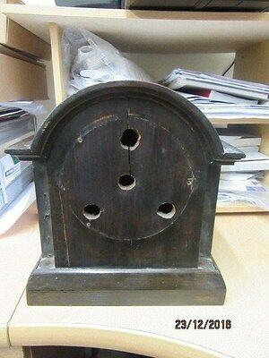 Mantel Clock Case Ideal For Spares Or Repair