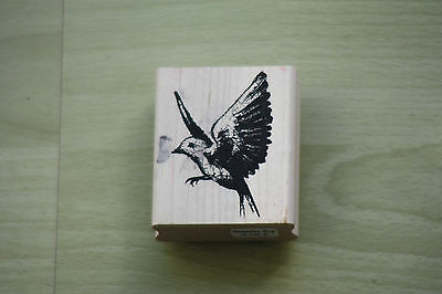 Tim Holtz Stampers Anonymous Vogel