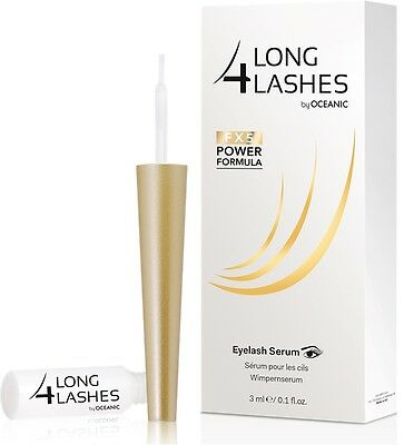 Long4lashes Long 4 lashes Eyelash Serum Wimpernserum FX5 Power mit gratis Probe