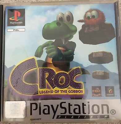 Gioco Ps1/ps2 Croc Legend Of Tue Gobbos
