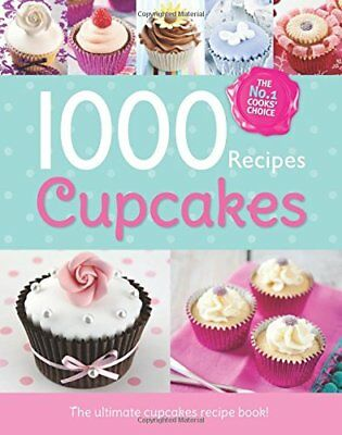 1000 Recipes - More Cupcakes - Large Format Hardback Book. Photo's and step by