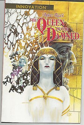 Anne Rice's Queen of the Damned #1 (Oct 1991, Innovation) First Issue!