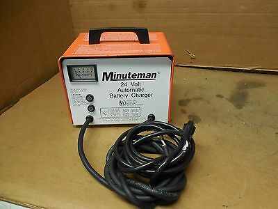 Minuteman 24V Single Phase Automatic Battery Charger 120V 1Ph 957722