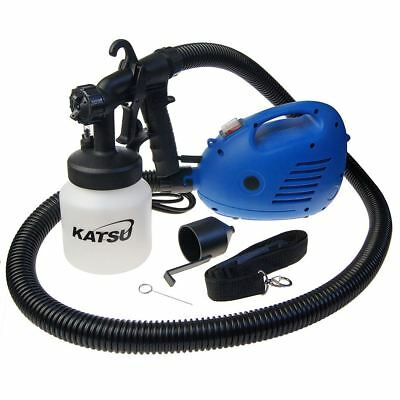 KATSU 800ml 650W Electric Paint Gun Fence Painting Sprayer Free UK P&P
