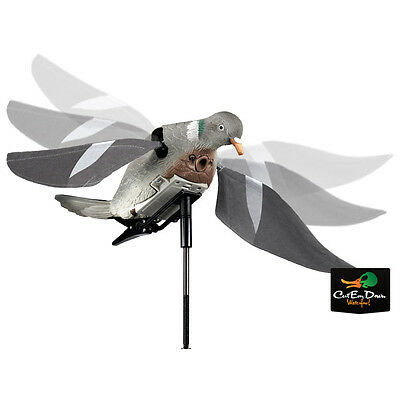 New Edge Lucky Duck Rapid Flyer Pigeon Motorized Flapping Motion Decoy Dove