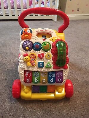 Immaculate Baby First Steps Walker Musical And Lights
