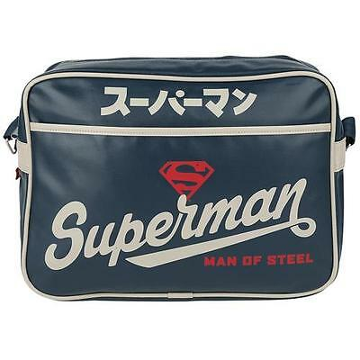 Superman - Man Of Steel Japanese Sports Bag / Satchel - New Official DC Comics