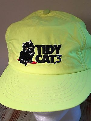 VINTAGE RARE TIDY CAT3 CAP/HAT NWOT  - See Photos