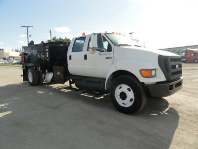 2007 Ford F750 Crew Cab Pro-Patch Asphalt Pothole Patcher