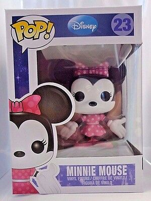 MINNIE MOUSE 23 Funko POP Disney POP! vinyl figure New In Package Hard to Find