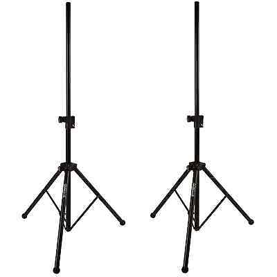 Quik Lok Easy Lift Air Cushioned Speaker Stands (Pair)