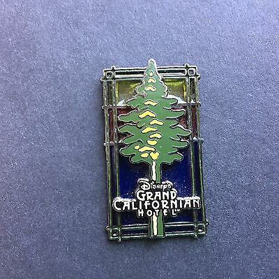 DLR - Disney's Grand Californian Hotel Stained Glass logo pin Disney Pin 8997