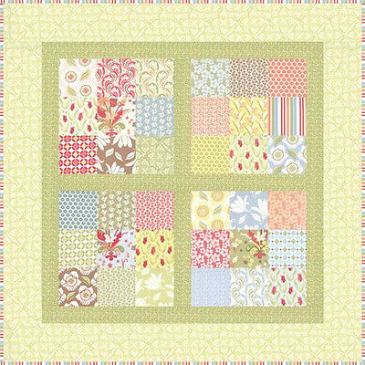 Little Black Dress Quilt Kit Includes Pattern Plus Moda Fabric