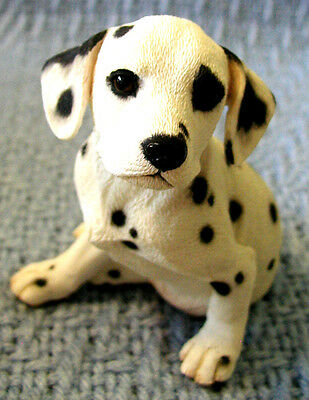 COUNTRY ARTISTS Adorable Sitting DALMATION PUPPY #01889 New/Boxed/Perfect LOOK!
