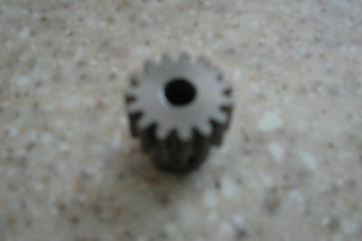 15 Tooth 1/4 inch bore Spur gear, Pinion gear