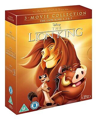 The Lion King Trilogy [Blu-ray]