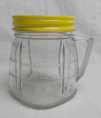 Vintage Oster Osterizer Mini Blend 8 Oz Container with Lid Blend & Store #4258