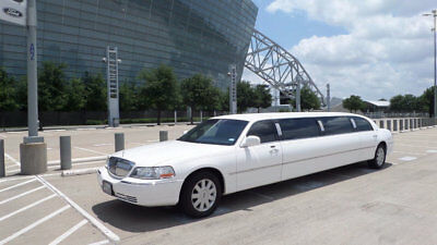 """2006 Lincoln Town Car Dabryan 120"""" 5th Door Private Limousine """"ILS Certified"""" Privately Used Limousine Limos Stretch Limo  Limosines Buses"""