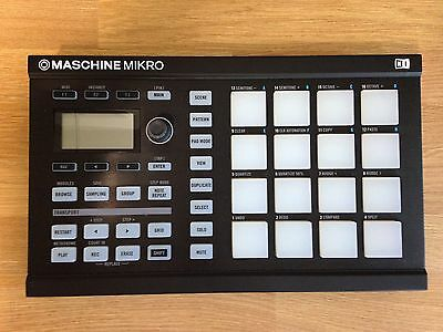 Native Instruments Maschine Mikro MK1   Hardware with USB cable but no Software