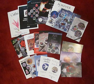 Selman Paperweight Catalogs and Brochures, 1980s-90s