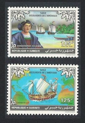 Djibouti 500th Anniversary 1992 of Discovery of America by Columbus 2v