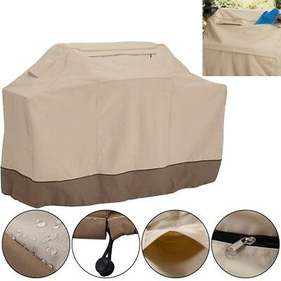"""73"""" Waterproof Large Outdoor Patio Barbeque Grill Oven Cover Furniture Protectio"""