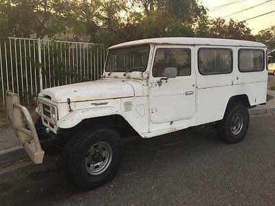 1980 Toyota Land Cruiser  1984 HJ47 Troop Carrier 1HZ Turbo Diesel 5 Speed