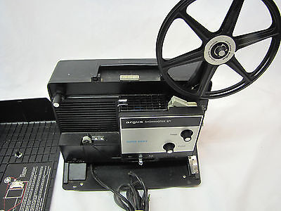 Argus Showmaster 871 Super Eight Movie Projector - Works