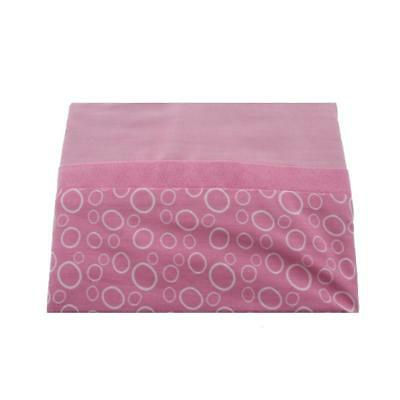 Graco 2385 Sweet Ladybug Pink Circles Baby Girl Nursery Window Valance BHFO