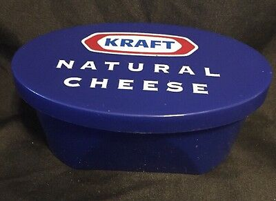 Vintage Kraft Natural Cheese Advertising Grater With Container Bowl And Lid Rare